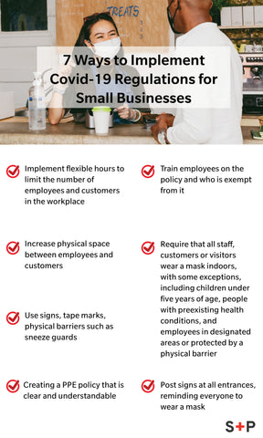 7 ways small businesses can implement PPE guidelines