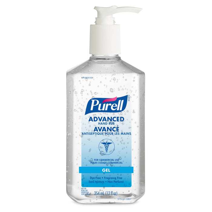 Hand Sanitizer - Purell Advanced Gel (354 mL 12/pack)