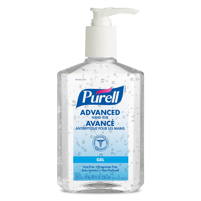 Hand Sanitizer - Purell Advanced Gel (236 mL 12/pack)