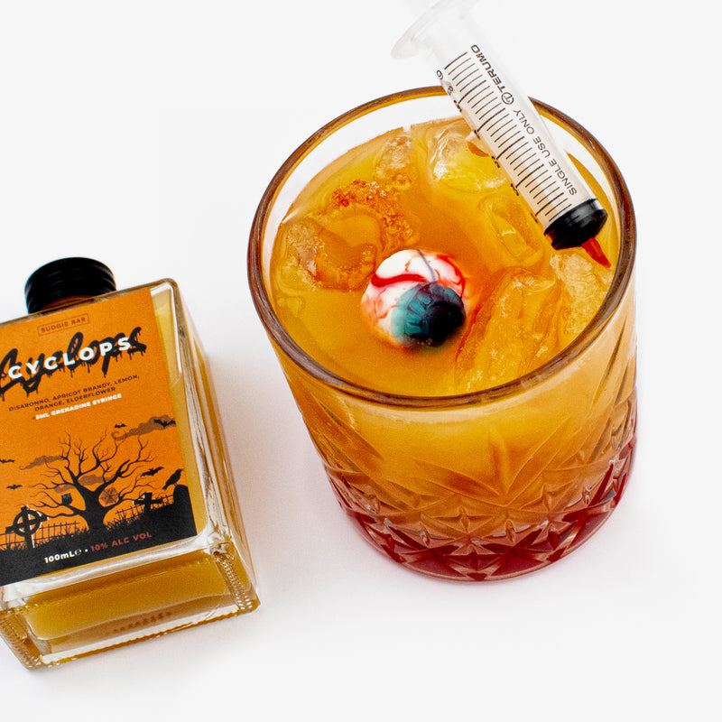 Cyclops Limited Edition Halloween Bottled Cocktail