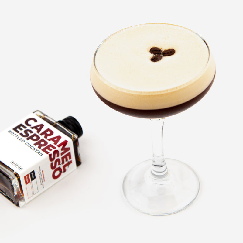 Salted Caramel Espresso Bottled Cocktail