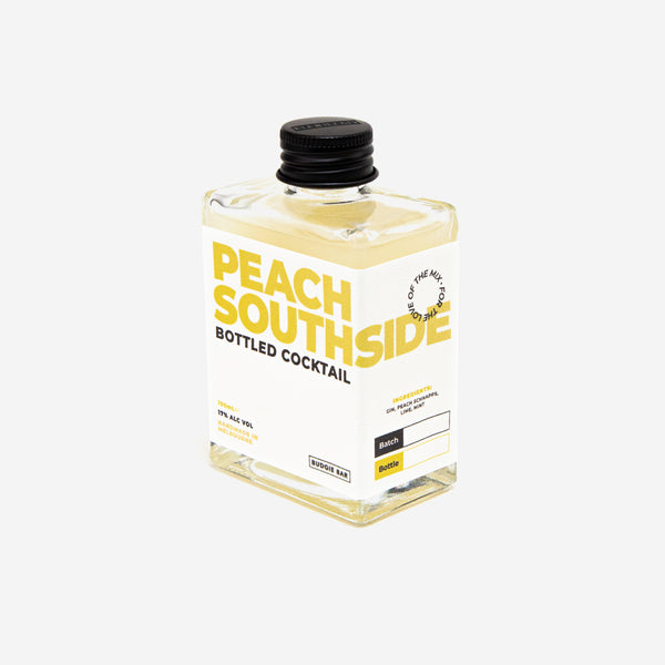 Peach Southside Bottled Cocktail