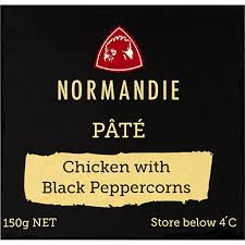 Normandie Pate Chicken with Black Peppercorns