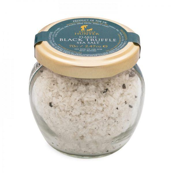 Black Truffle sea Salt Flaked 70g
