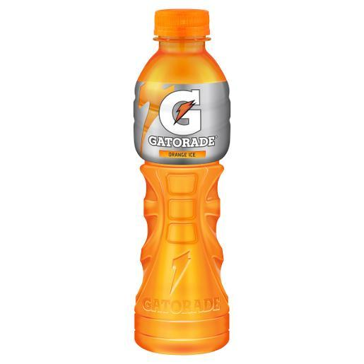Gatorade Orange Ice Bottle 600ml