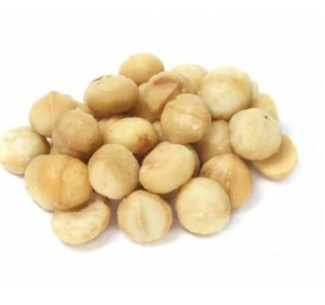 Macadamia Nuts Roasted (Unsalted) 250g