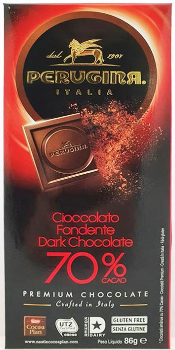 Perugina Dark Chocolate 70% Cacao 86g