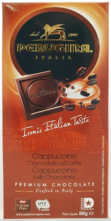 Perugina Milk Chocolate with Cappucino Granules 86g