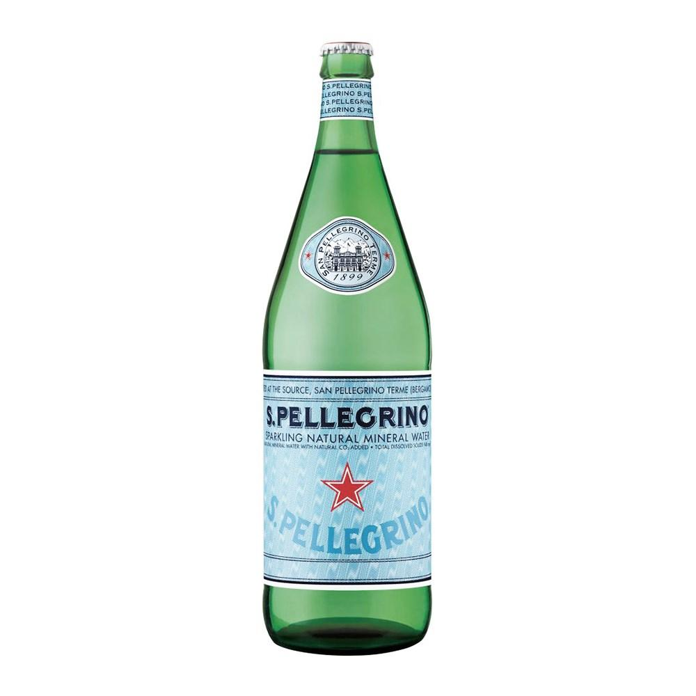 San Pellegrino Sparkling Natural Mineral Water 1litre