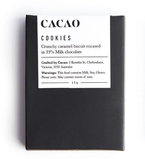 Load image into Gallery viewer, Cacao Chocolate Products - Cookies 45g