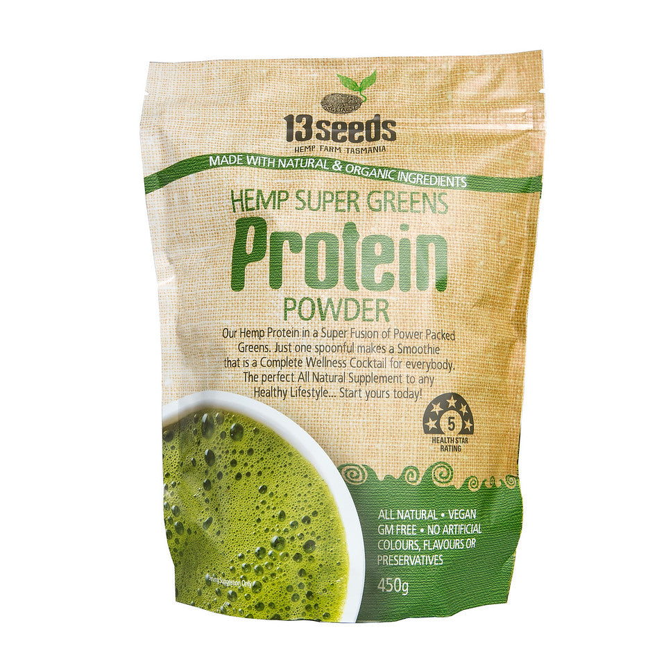 Load image into Gallery viewer, Hemp Super Greens Protein Powder