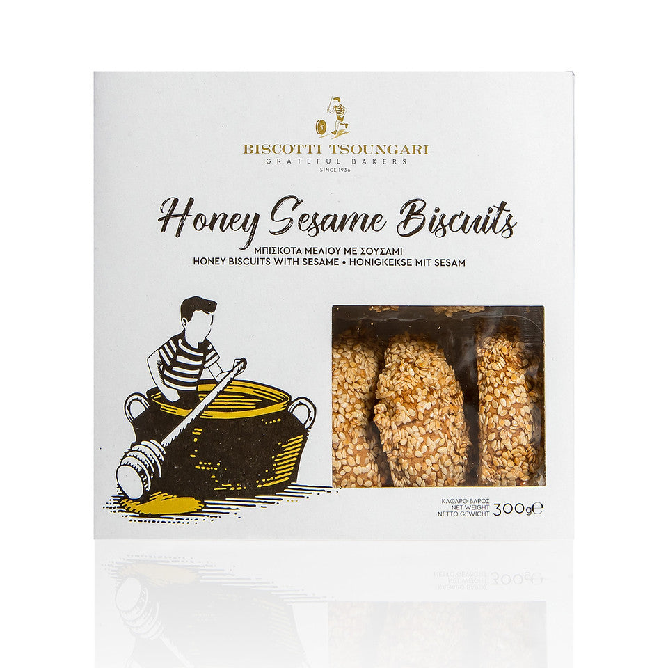 Honey Sesame Biscuits