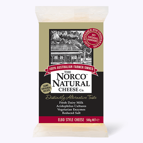 Norco natural cheese block 500g