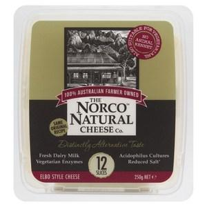 Norco natural cheese slices 250g