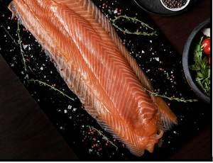 Load image into Gallery viewer, Premium Smoked Salmon 1kg