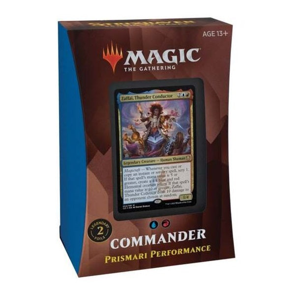 Strixhaven School of Mages Commander Deck - Prismari Performance