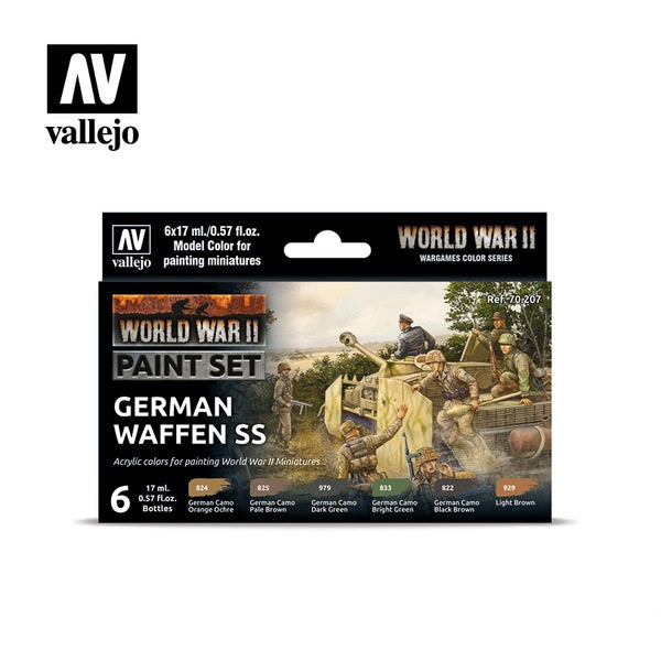 WWII German Waffen-SS Paint Set