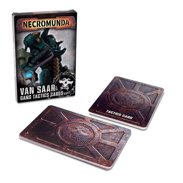 Van Saar Gang Tactics Cards