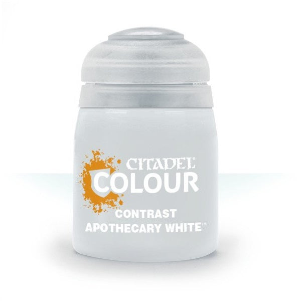 Apothecary White Contrast 18ml - Grim Dice Tabletop Gaming
