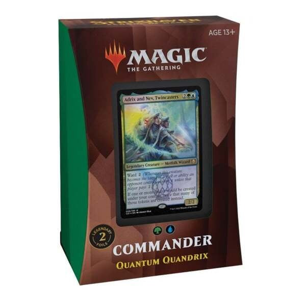 Strixhaven School of Mages Commander Deck - Quantum Quandrix