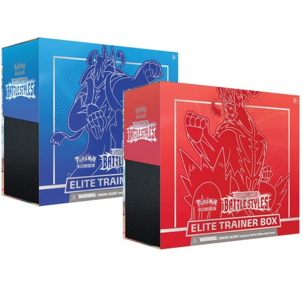 Sword & Shield 5 Battle Styles Elite Trainer Box (ONE PER CUSTOMER)
