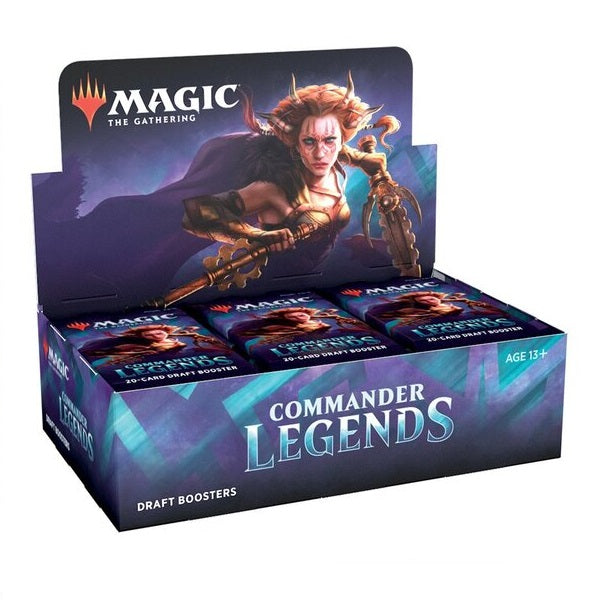 Commander Legends Draft Booster Full Box