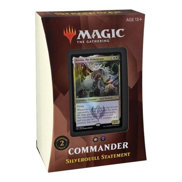 Strixhaven School of Mages Commander Deck - Silverquill Statement
