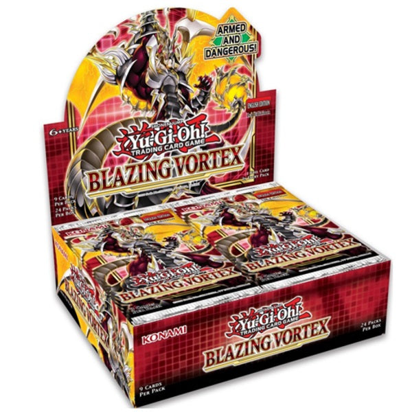 Blazing Vortex Full Box (Not 1st Edition)