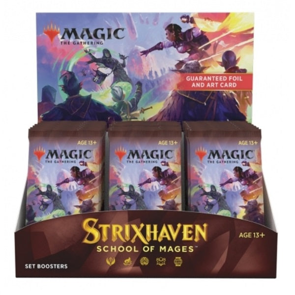Strixhaven School of Mages Set Booster Full Box