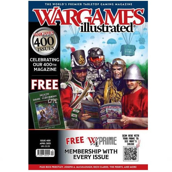 Wargames Illustrated WI400 April 2021 Edition