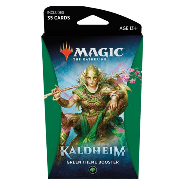Kaldheim Green Theme Booster