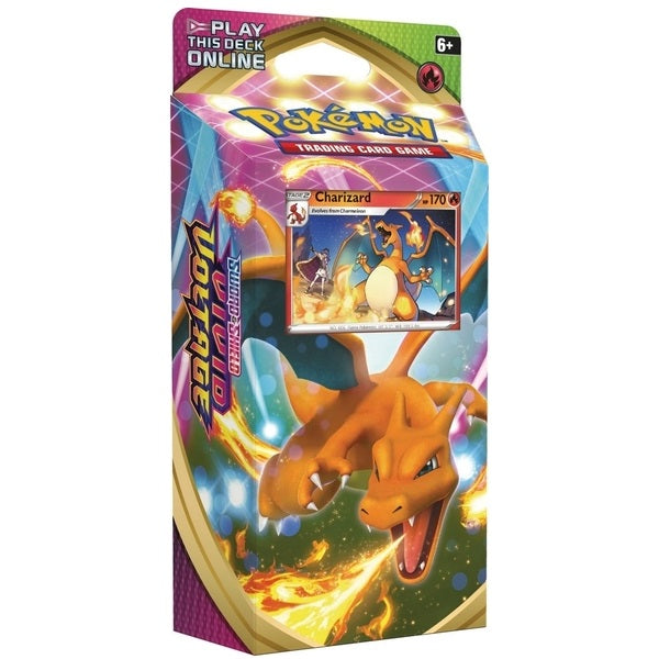 Sword & Shield 4 Vivid Voltage Theme Deck - Charizard