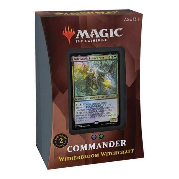 Strixhaven School of Mages Commander Deck - Witherbloom Witchcraft