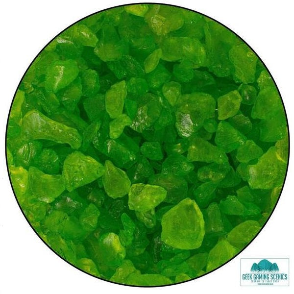Glass Shards 4-10mm Green