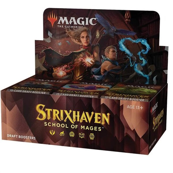 Strixhaven School of Mages Draft Booster Full Box