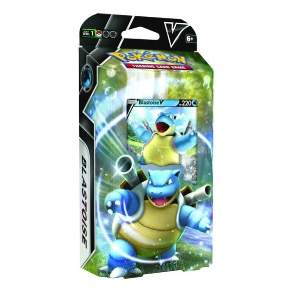 Blastoise V Battle Single Deck