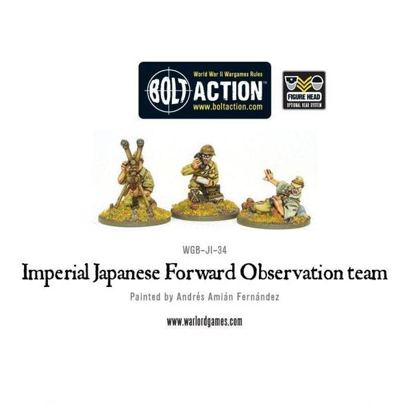 Imperial Japanese Forward Observer Officer team
