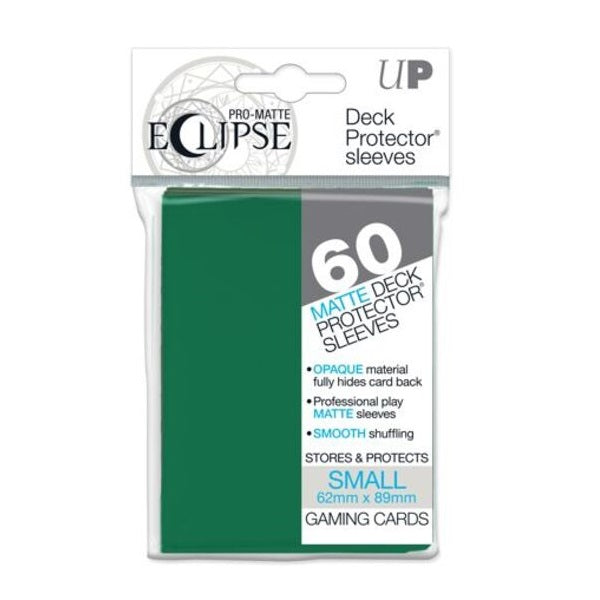 Pro Matte Eclipse Sleeve x 60 Forest Green 62mm X 89mm