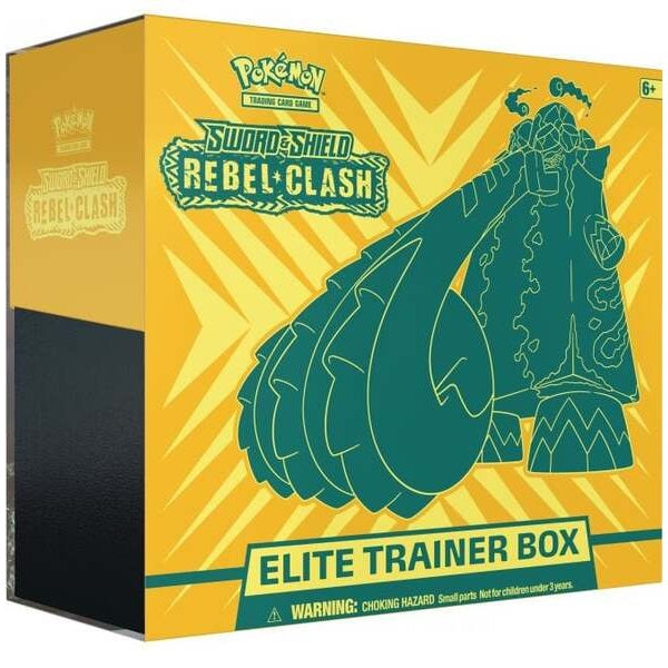 Sword & Shield 2 Rebel Clash Elite Trainer