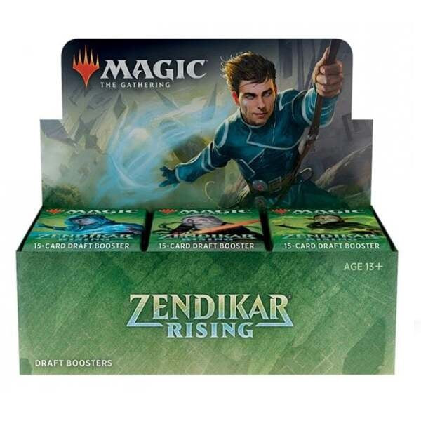 Zendikar Rising Draft Booster Full Box