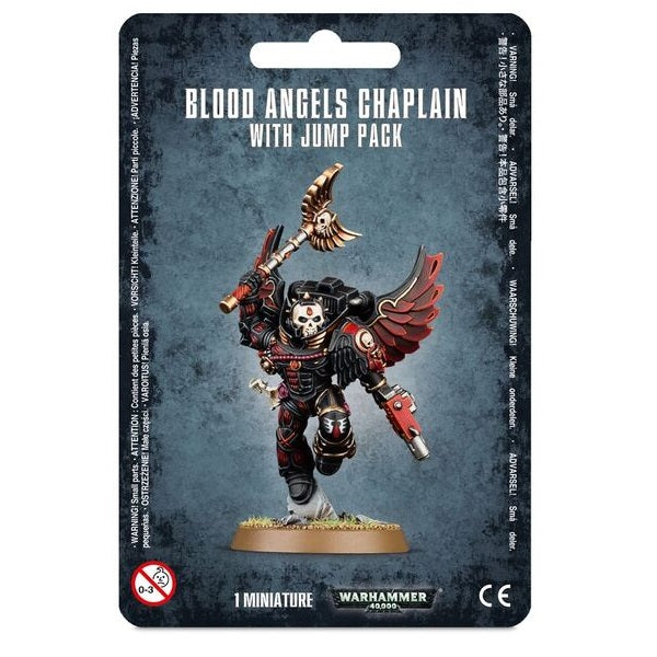 Blood Angels Chaplain with Jump Pack