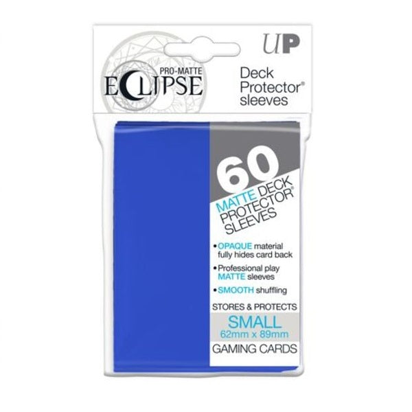 Pro Matte Eclipse Sleeve x 60 Pacific Blue 62mm X 89mm