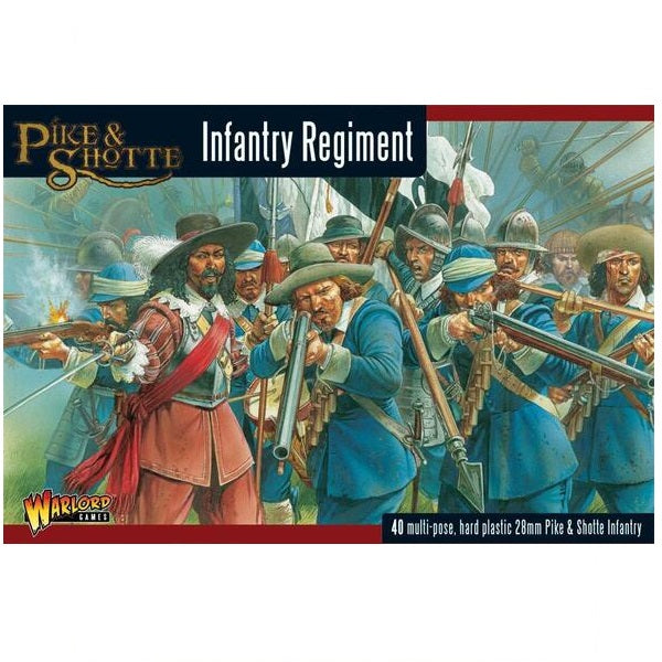 Infantry Regiment, Pike and Shotte