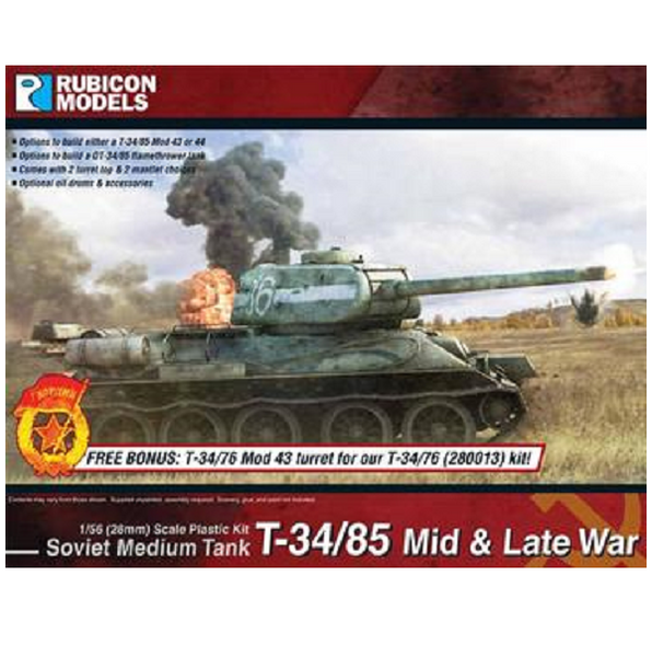 T-34/85 – Mid & Late War