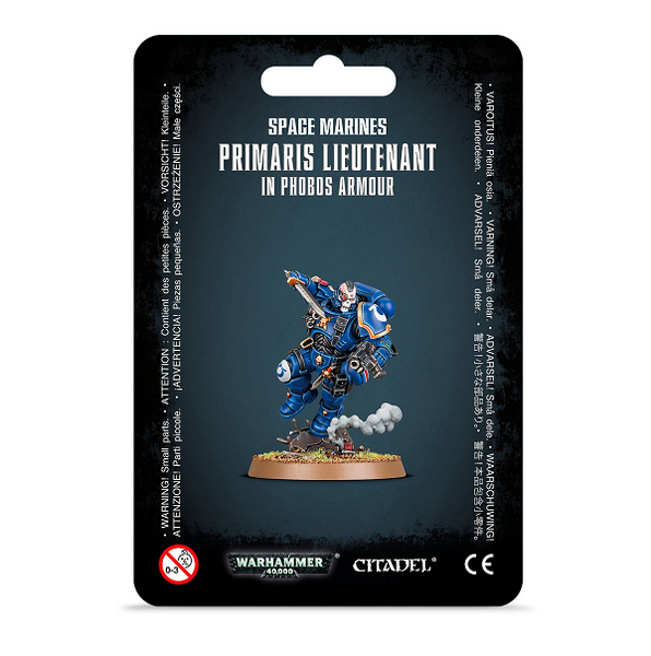 Primaris Lieutenant in Phobos Armour