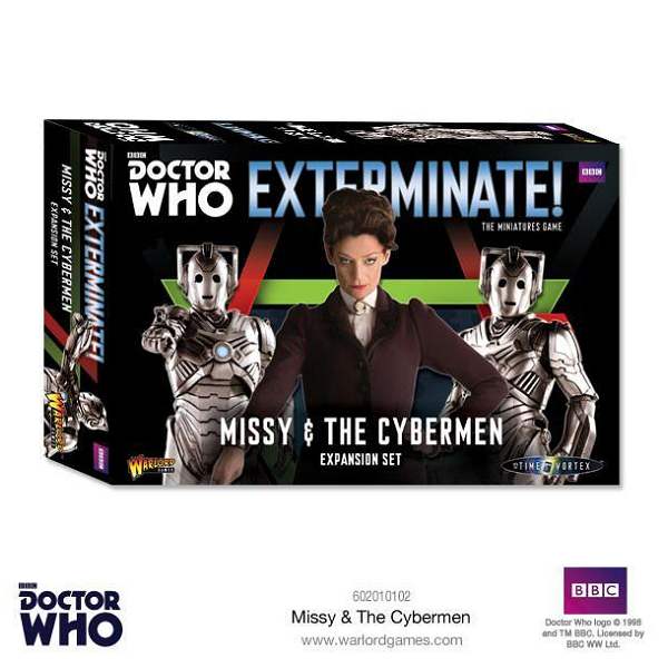 Missy and the Cybermen