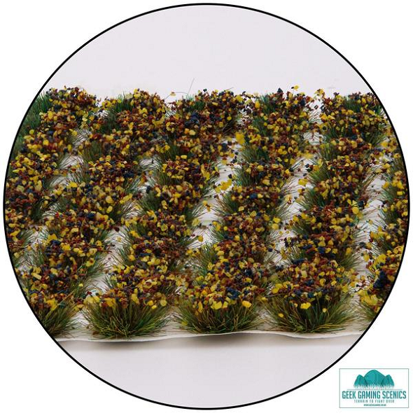 6mm Mixed Flower Static Grass Tufts