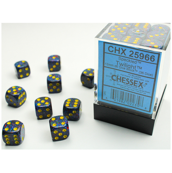 Speckled D6 Set of 36 Twilight