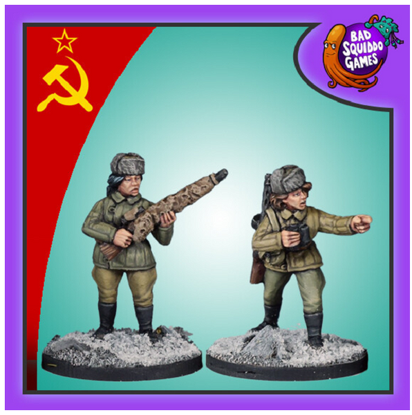 Soviet Sniper Team (Winter)