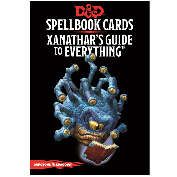 Xanathars Guide to Everything Spellbook Cards